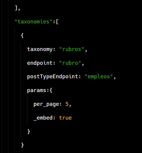 frontity-taxonomies
